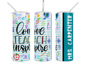 notebook-paper-doodles-love-teach-inspire-personalized-name-tumbler-fab five print shop