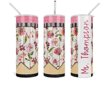 pink-floral-pencil-personalized-teacher-gift-custom-tumbler-2-fab five print shop