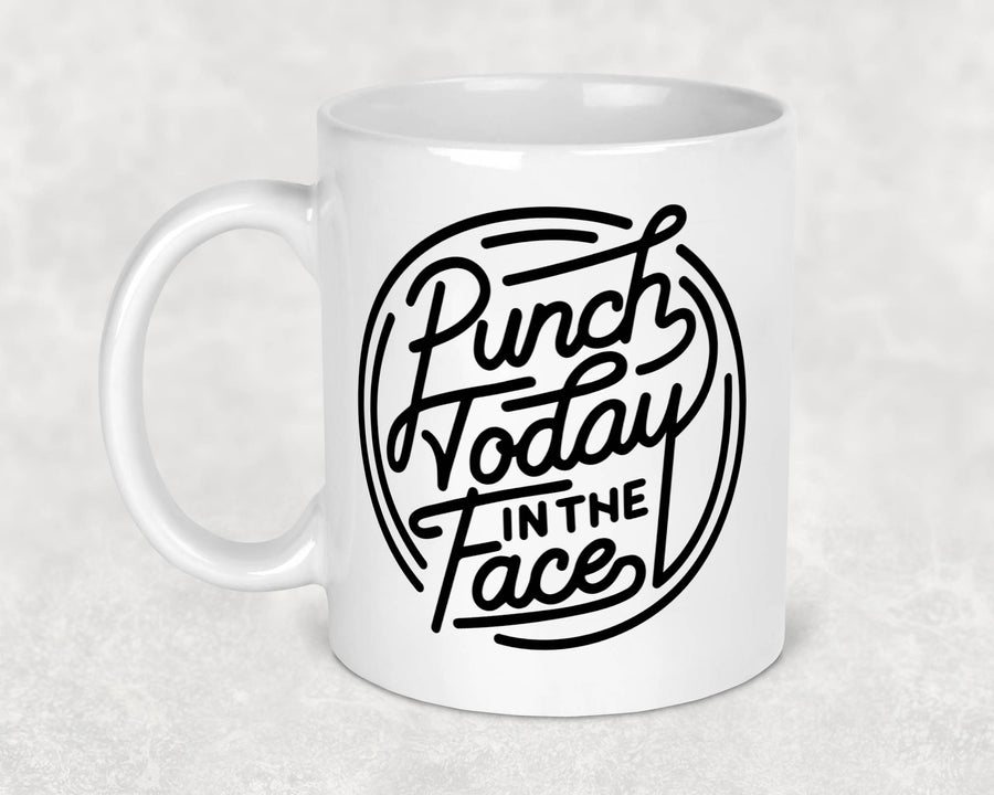 punch-today-in-the-face-boss-motivation-motivational-snarky-snark-11-ounce-ceramic-coffee-tea-mug-2-fab five print shop