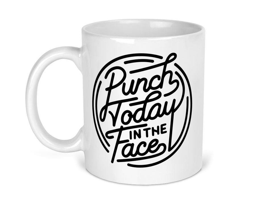 punch-today-in-the-face-boss-motivation-motivational-snarky-snark-11-ounce-ceramic-coffee-tea-mug-fab five print shop