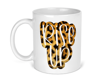 rise-up-leopard-print-animal-print-11-ounce-ceramic-coffee-tea-mug-fab give print shop