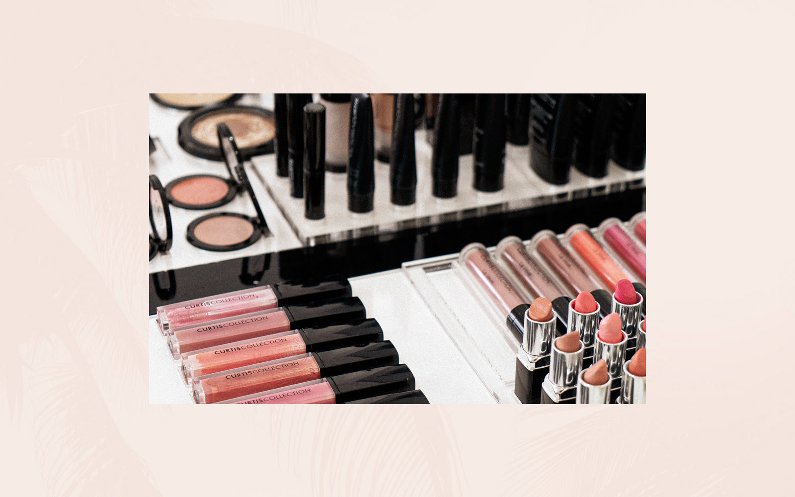 Professional makeup application products