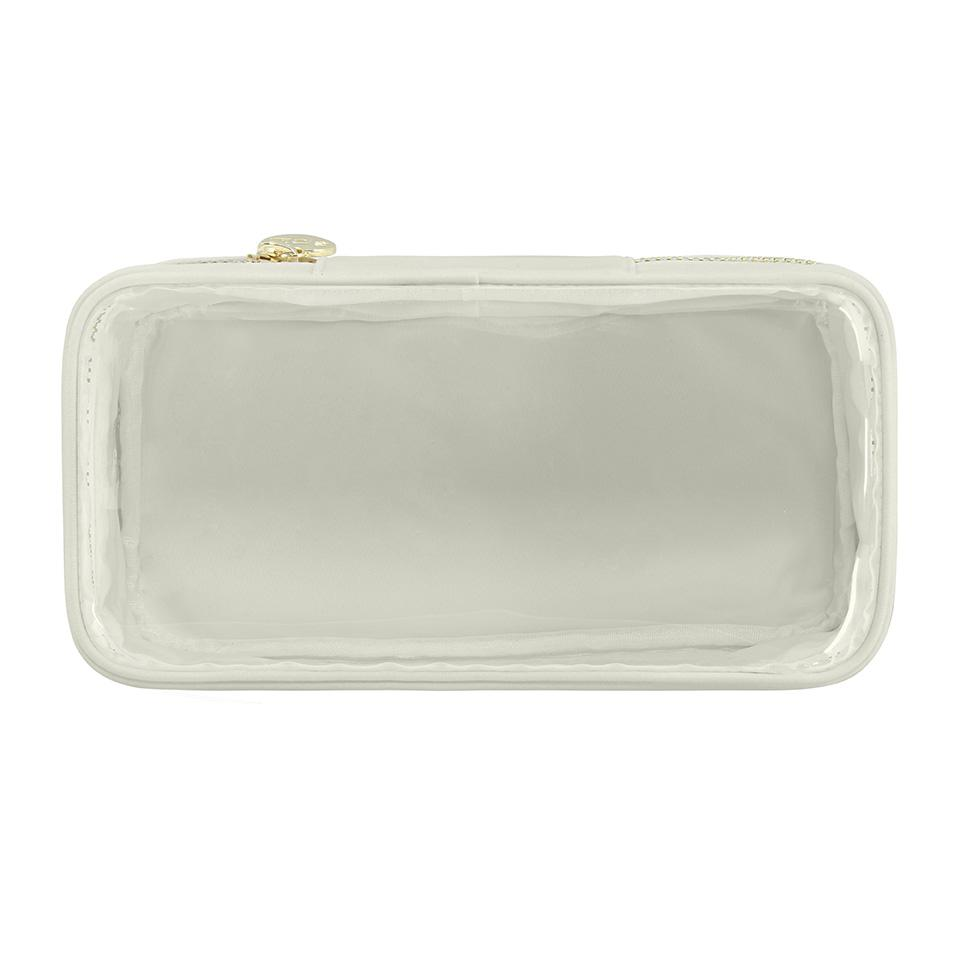 Classic Clear Open Top Pouch - Grey - Give Wink