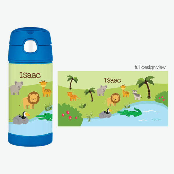 Spark & Spark. Jungle Fever Personalized Thermos Bottle