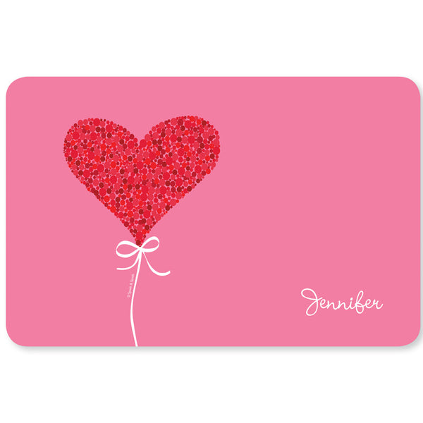 Spark & Spark. Sweet Heart Personalized Kids Placemat