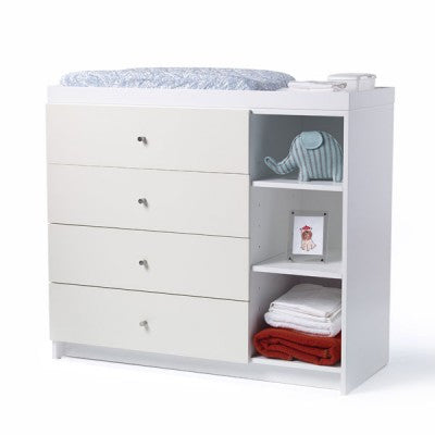 DucDuc NYC  AJ 4 Drawer Changer - Give Wink