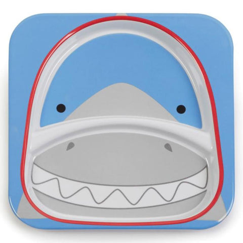 Zoo Divided Plate - Shark