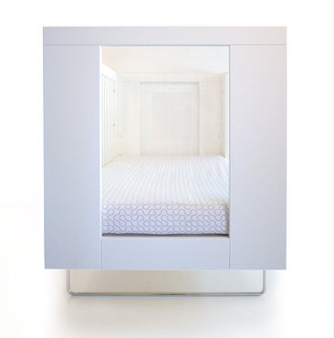 Alto Crib of Spot on Square - Give Wink Miami Baby Store - Clear Acrylic