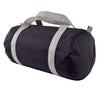 Black/Grey Nylon Duffel - Give Wink