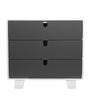 Retro Dresser - Bloom - Give Wink Miami Baby Store - Frost Grey