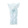 Elephant Blue Lovie Blankie - Give Wink