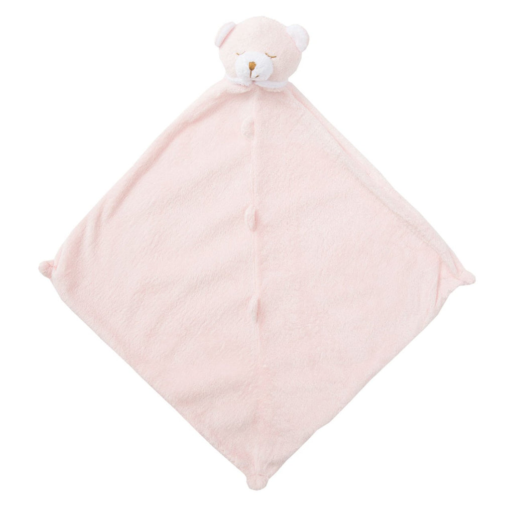 Bear Pink Lovie Blankie - Give Wink