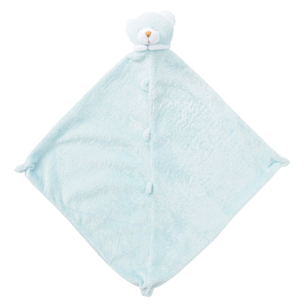 Bear Blue Lovie Blankie - Give Wink
