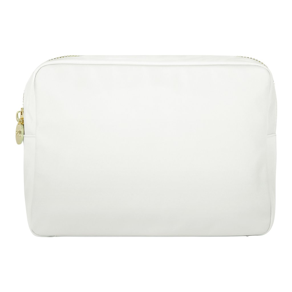 Classic Large Pouch - White - Give Wink