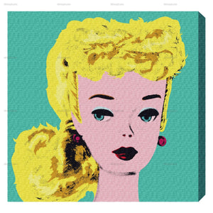 Classic Doll II Wall Art - Give Wink