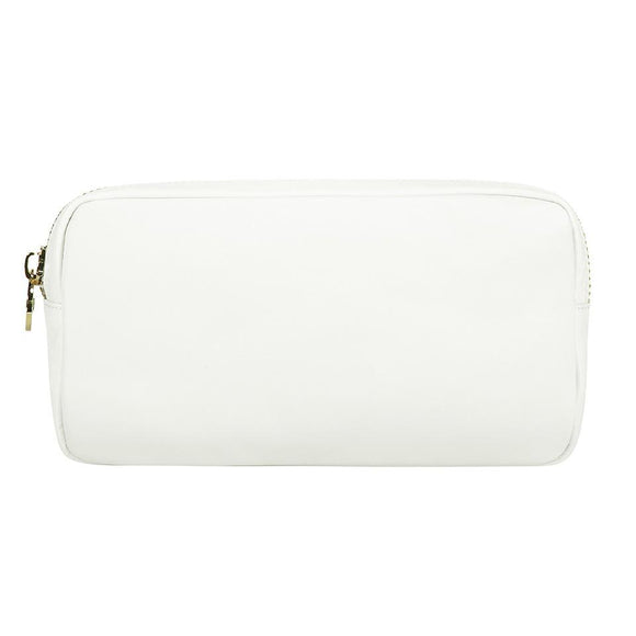 Stoney Clover Lane Miami Baby Store Classic Small Pouch - White. pc1