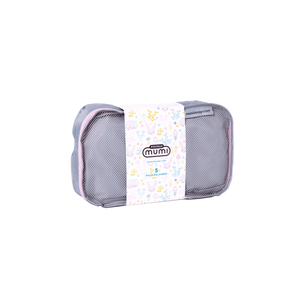 Packing Cubes S/5 (Piccolo) - Light Pink - Give Wink