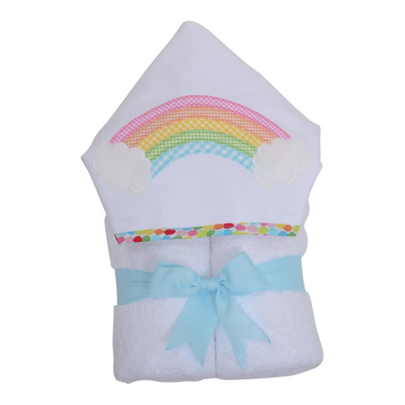 Rainbow Hooded Towel - Miami Baby Store
