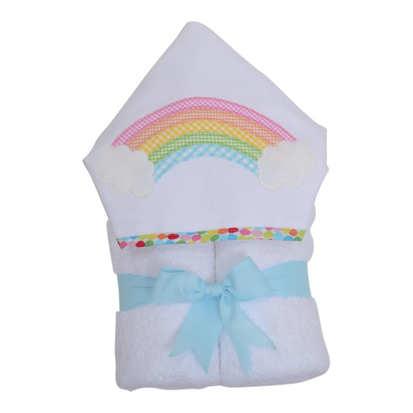 Rainbow Hooded Towel - Give Wink