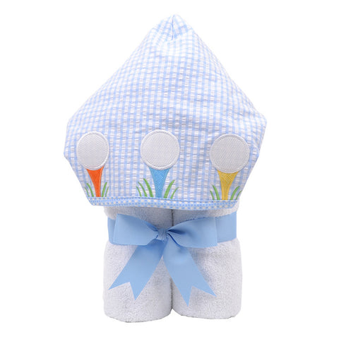 Golf Game Hooded Towel