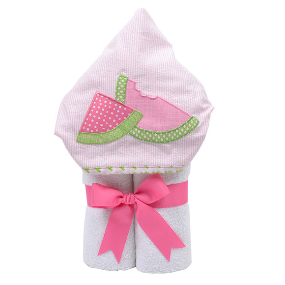 Watermelon Bite Hooded Towel - Give Wink