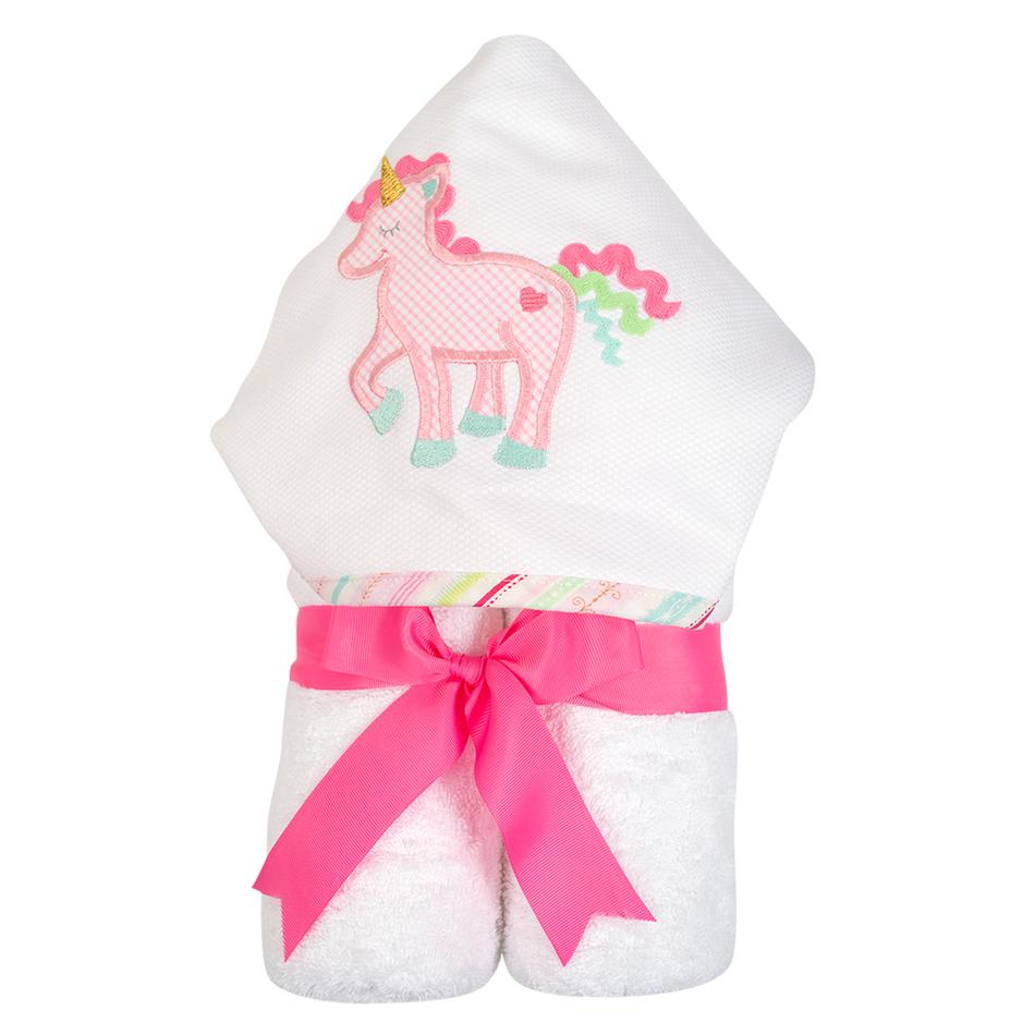 Unicorn Hooded Towel - Give Wink