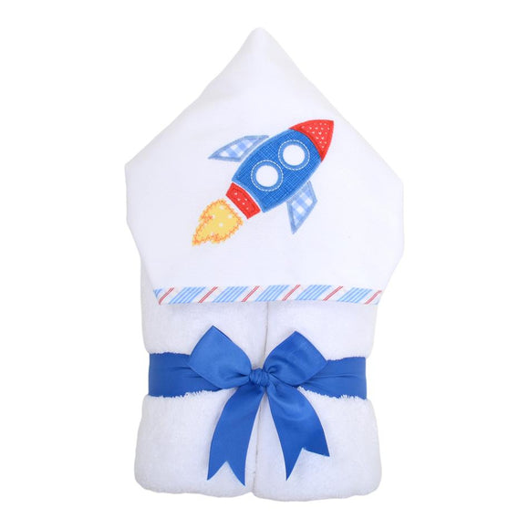 Rocker Hooded Towel - Miami Baby Store