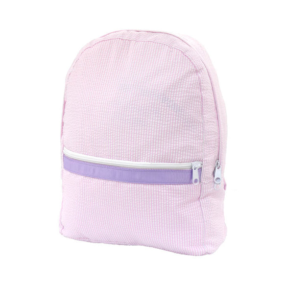 Princess Seersucker Large Backpack - Give Wink