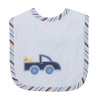 Little Truck Applique Bib - Give Wink