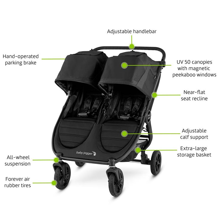 Baby Jogger City Mini GT2 Double - Give Wink