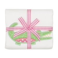 Alligator Applique Burp