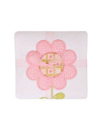 Darling Daisy Burp Pad - Give Wink