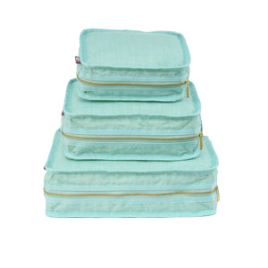 Mermaid Chambray Organizing Trio - Give Wink