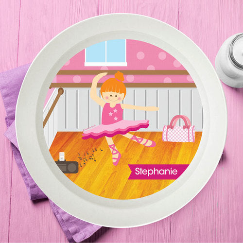 Ballerina Studio Personalized Kids Bowl - Give Wink