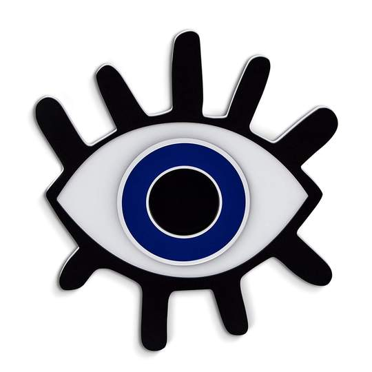 Lashed Evil Eye Wall Art - Give Wink