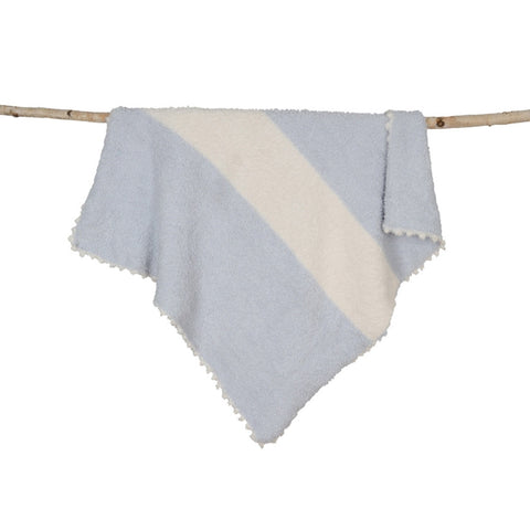 CozyChic Striped Receiving Blanket