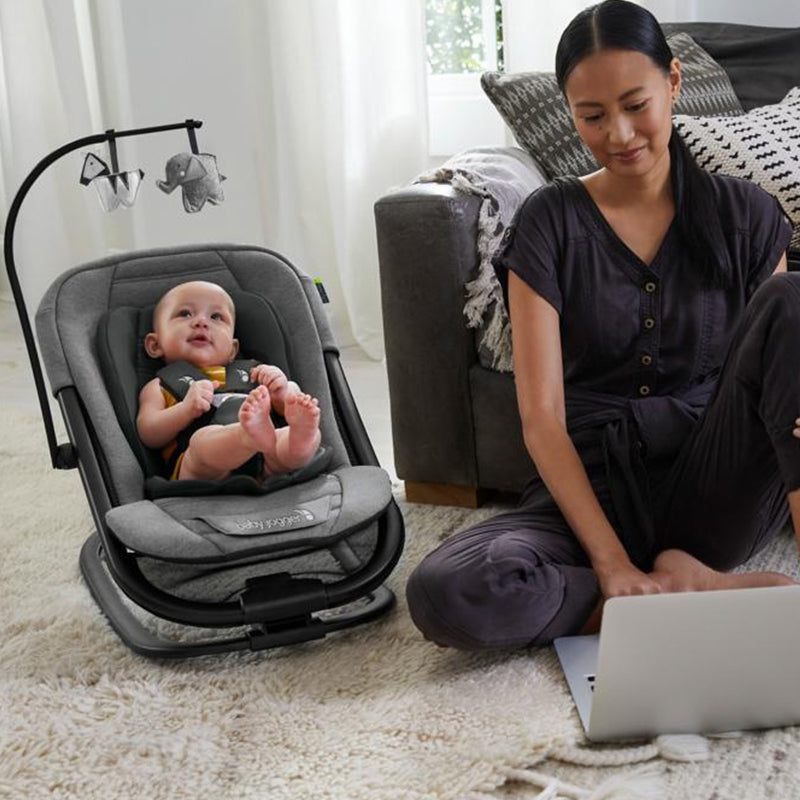 baby Jogger City Sway 2-in-1 Rocker and Bouncer - Give Wink
