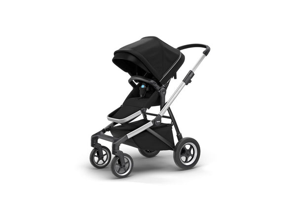 Thule Sleek Stroller. Strollers. Miami Give Wink Baby Store - Midnight Black