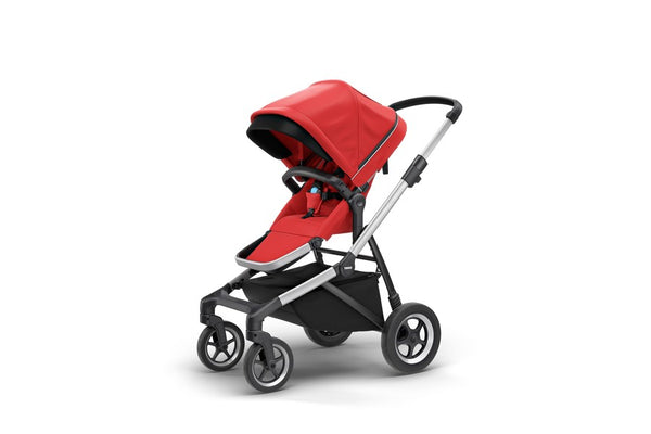 Thule Sleek Stroller. Strollers. Miami Give Wink Baby Store - Energy Red
