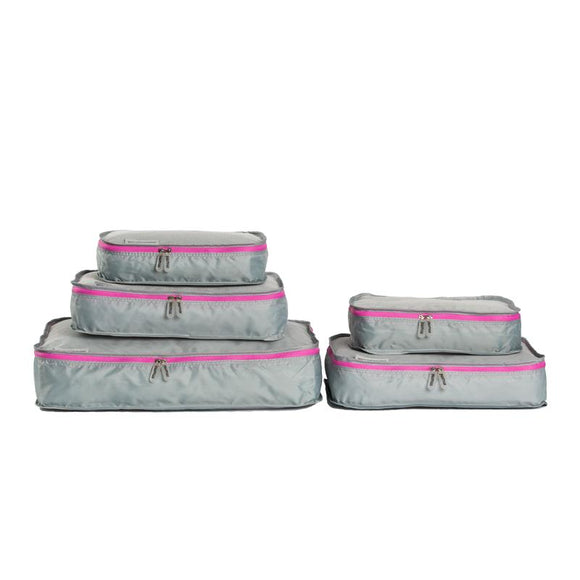 Packing Cubes S/5 - Pink - Give Wink