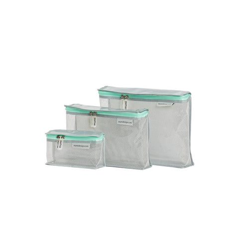 Toiletry Cubes S/3 (Piccolo) - Light Mint