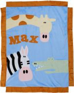 Custom Blanket Wild Party - Give Wink