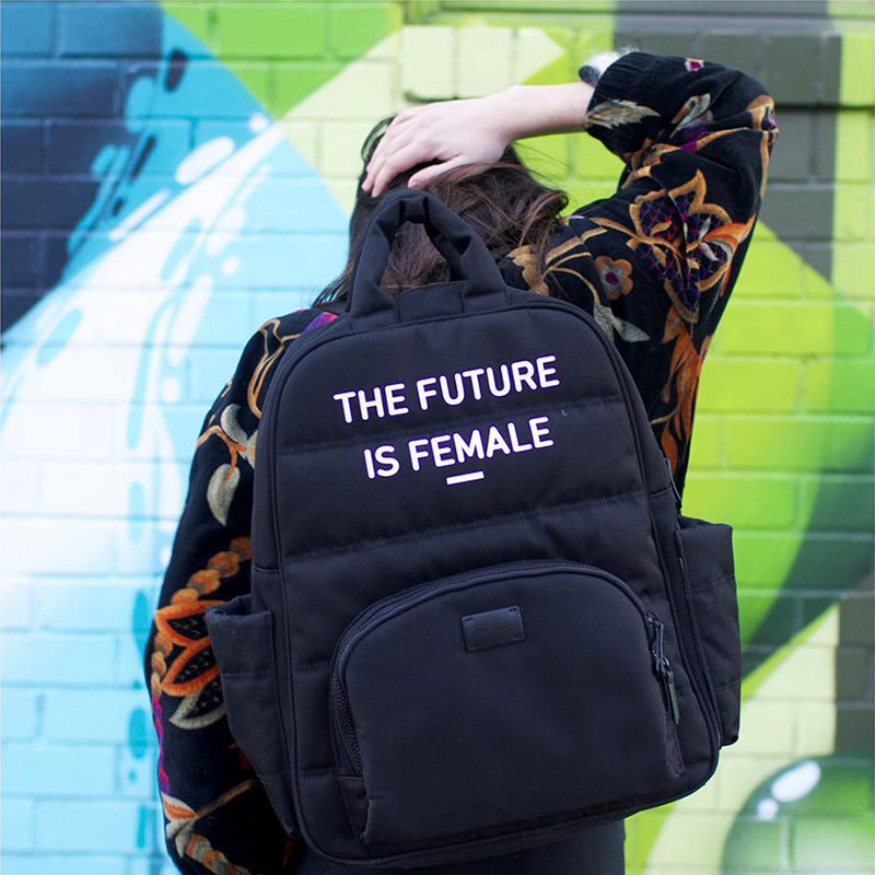 Feminist Oxford Backpack - Give Wink