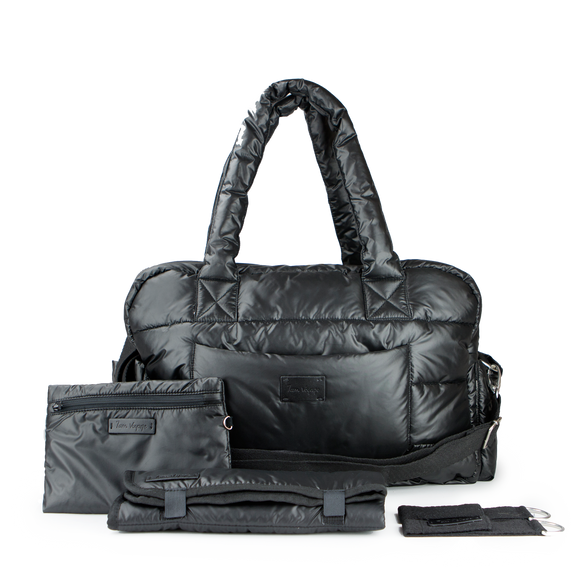 SoHo Satchel Diaper Bag - Give Wink