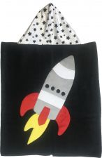 Hooded Custom Towel Blast Off - Give Wink