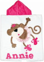 Hooded Custom Towel Twinkle Toes - Give Wink