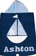 Hooded Custom Towel A-B Sea - Give Wink