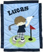 Custom Blanket Fore Score - Give Wink