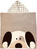Hooded Custom Towel Peekaboo Puppy - Give Wink