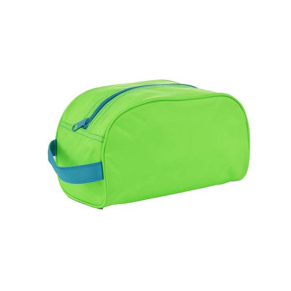 Lime/Aqua Nylon Traveler - Give Wink